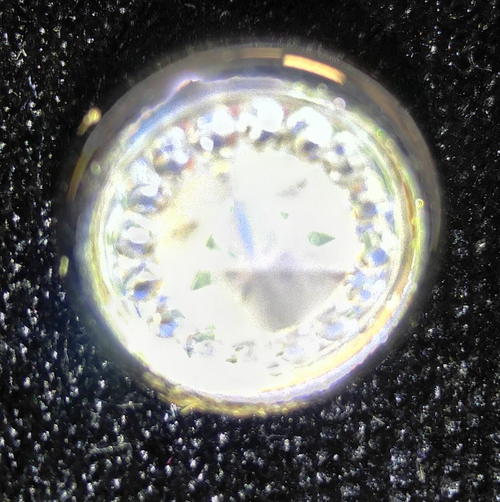 555105 Resin Shank Sparkle Clear (13mm)