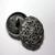 999015 Round Metal  w/ Shank (23mm)