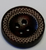 111039 Wood Round Brown 4 Hole (15mm)