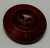 111050 Wood 20mm Round Red 4 Hole