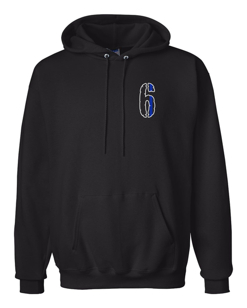 6 Hooded Sweatshirt