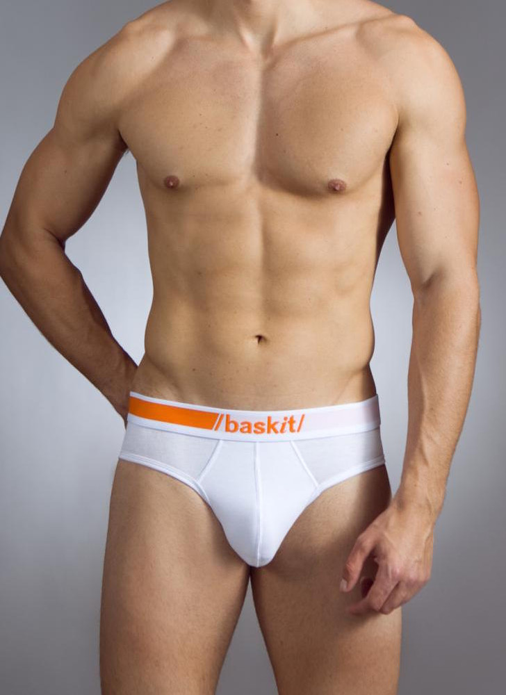 A sleek look for just the right coverage and support. The perfect union of jock and brief.  Try it!