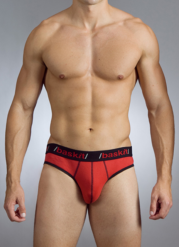 Our Contrast Collection provides a unique combination of colors for those looking to go beyond the basics. From bright and light to dark and deep, the color combinations in our Contrast Collection are sure to stand out.  Our Baskit Jockbrief is like nothing you've ever seen before. When we created the first jockbrief years ago, we took the fantastic pouch design of our Baskit brief and combined gave it with the form and functionality of our jockstraps -- but in a whole new design for the strap.  Our jockbrief has been copied by many other brands but rest assured, we're the original! The real deal!