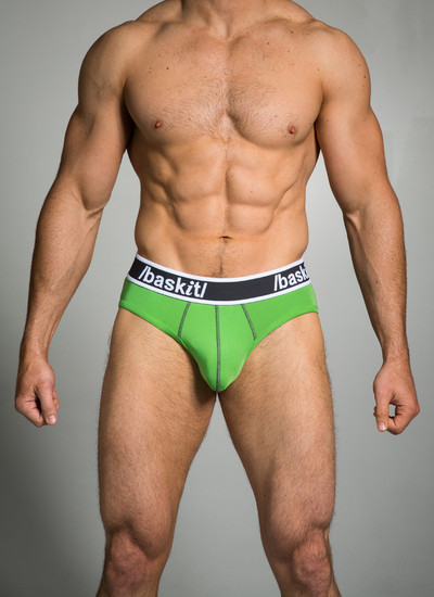 This brief follows your every move with its stretch waistband and contour enhancing