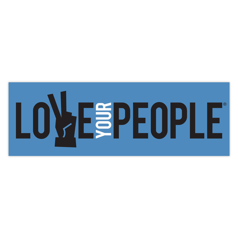 Love Your People Magnet - rectangle