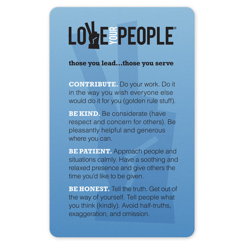Love Your People Pocket Cards (10 pack)