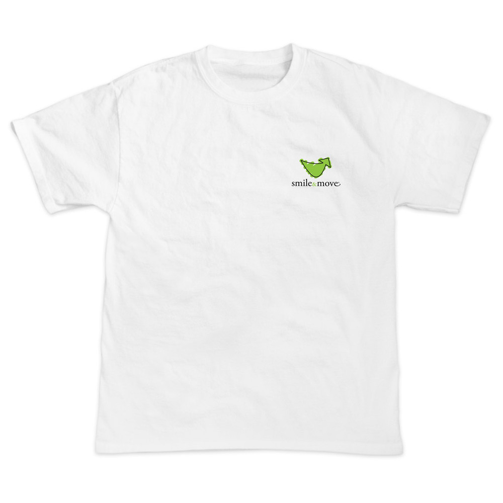 Smile & Move T-Shirt (white)