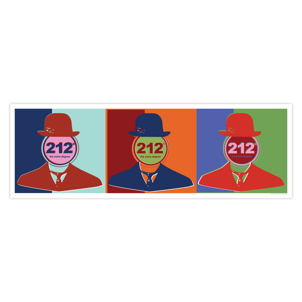 Face of 212° 10x30 Poster
