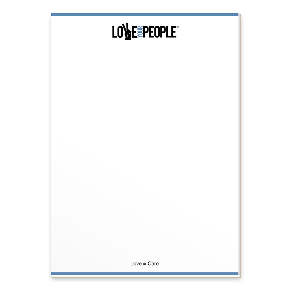 Love Your People Notepads (3 pack)