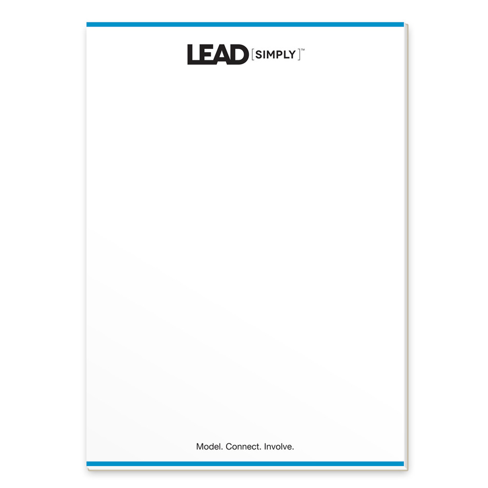 Lead [simply] Notepads (3 pack)