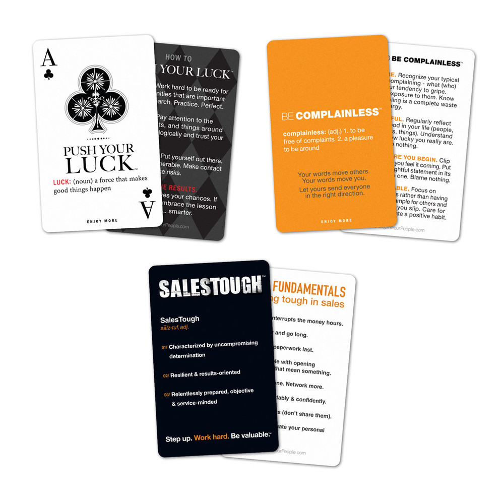 Personal Pocket Card Collection (with SalesTough)