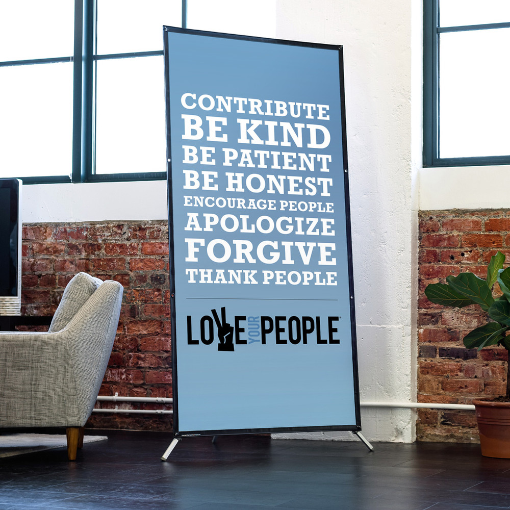 Love Your People 3 ft. x 6 ft. Banner