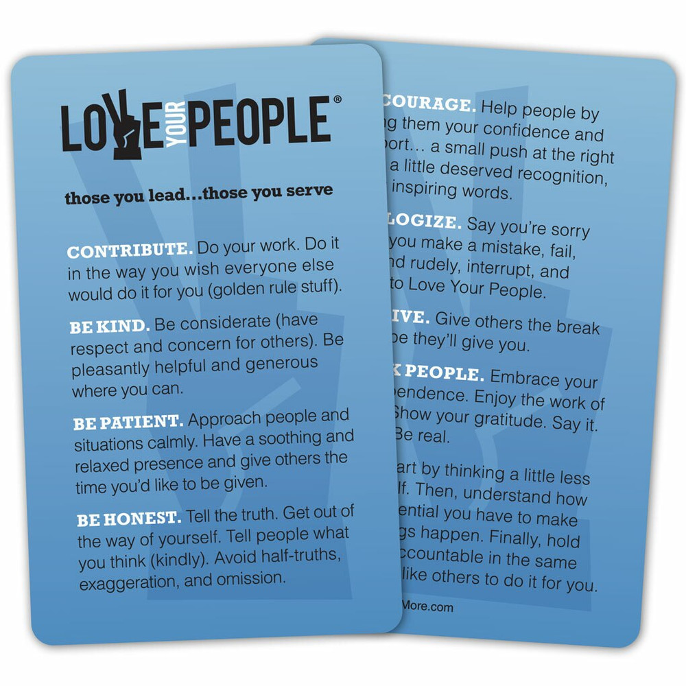 Love Your People Booklet Discussion Package