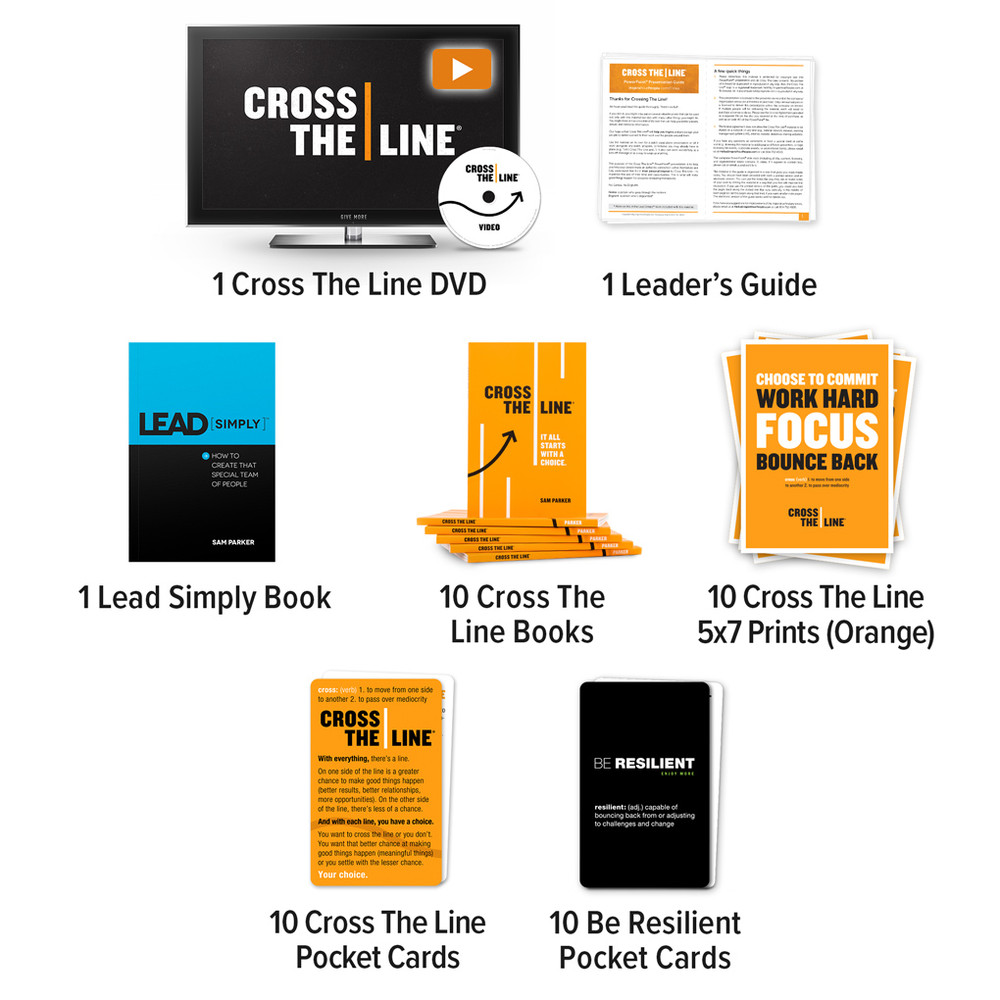 Cross The Line Video Discussion Package