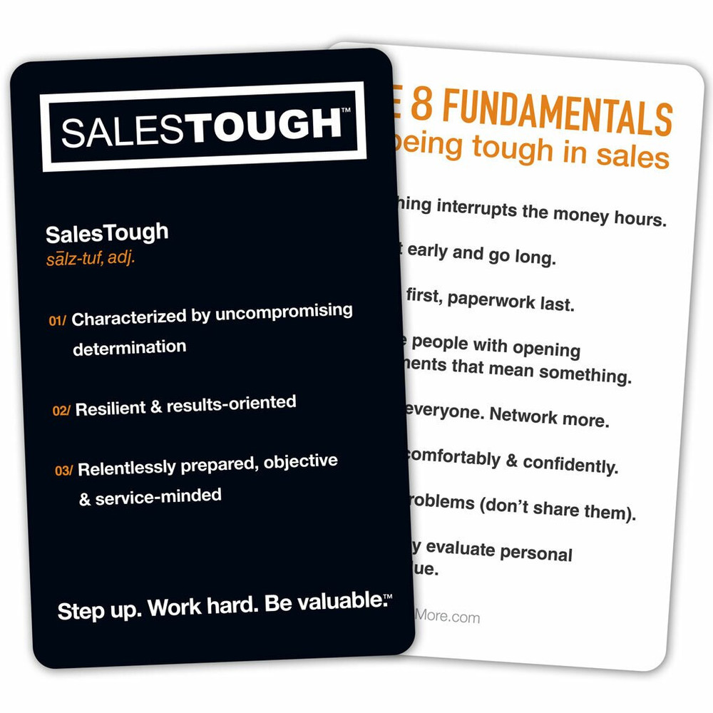 SalesTough Book Discussion Package