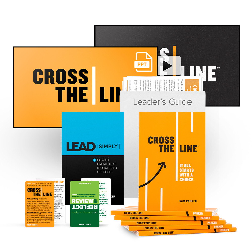 Cross The Line Video & PowerPoint® Package