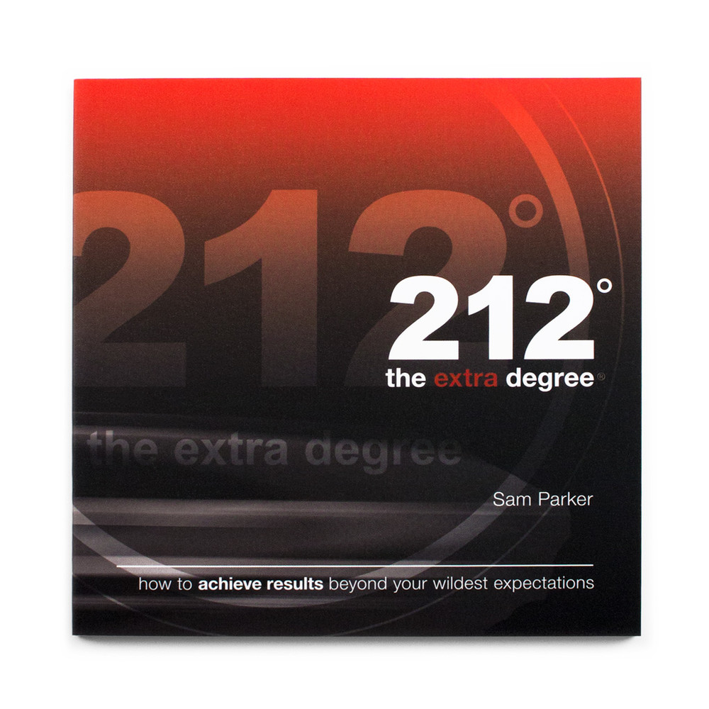 212° the extra degree Book (no stickers, single)