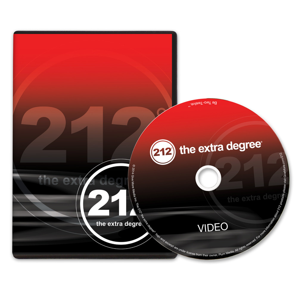212° the extra degree DVD
