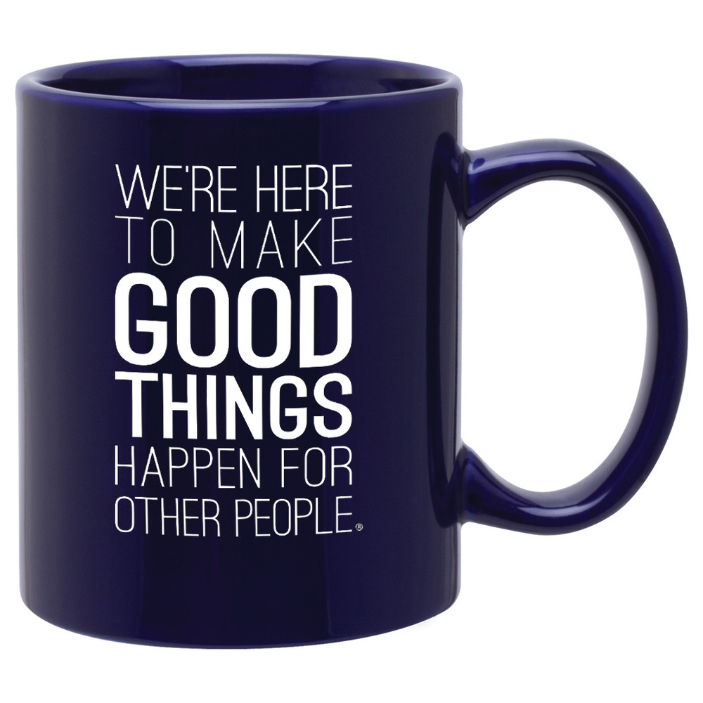 Make Good Things Happen Mug (11oz Purple)