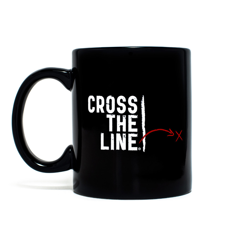 Cross The Line Mug (11oz Original Version)