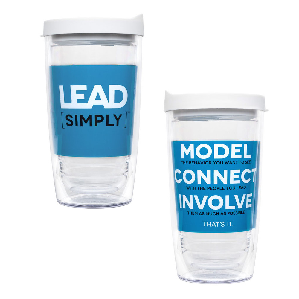 Lead Simply Tervis Tumbler (16 oz)