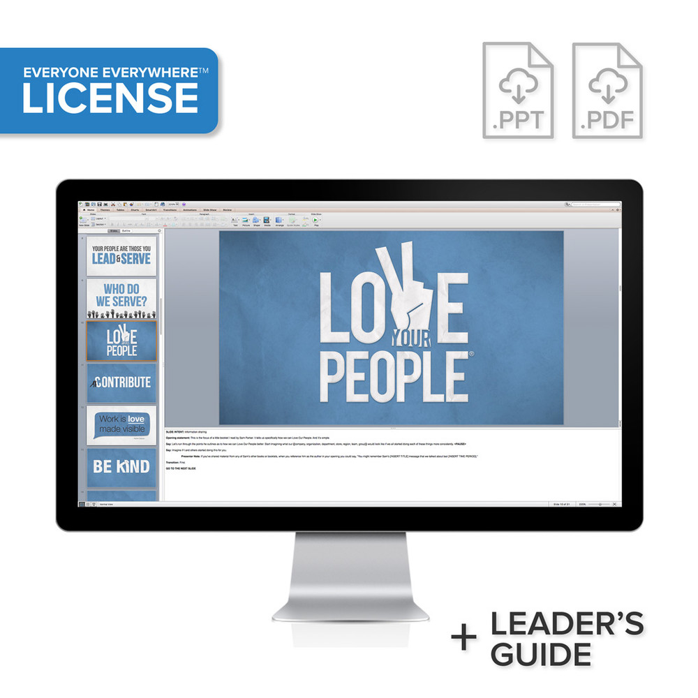 Love Your People PowerPoint® Presentation License (organization-wide)