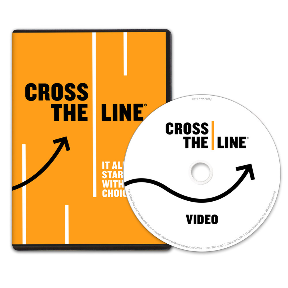 Cross The Line DVD
