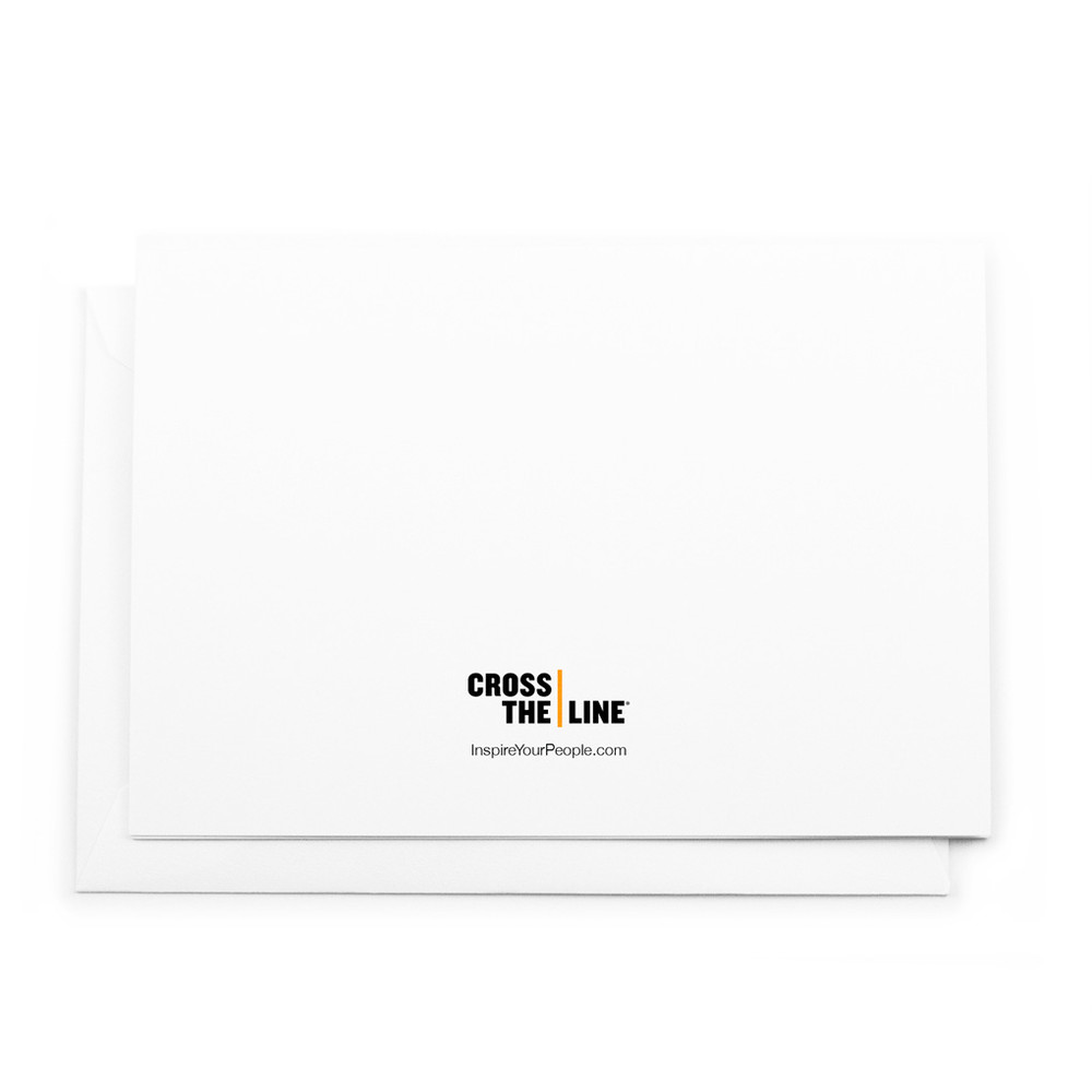 Cross The Line Notecards (combo pack)