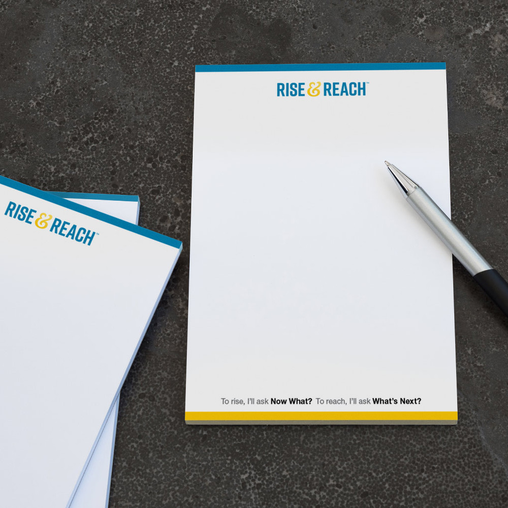 Rise & Reach Notepads (3 pack)