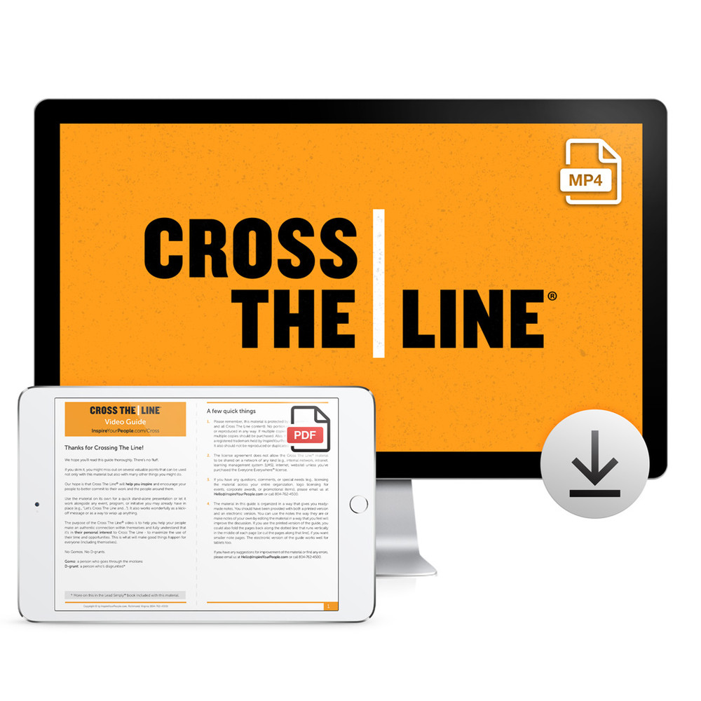 Cross The Line Video Download
