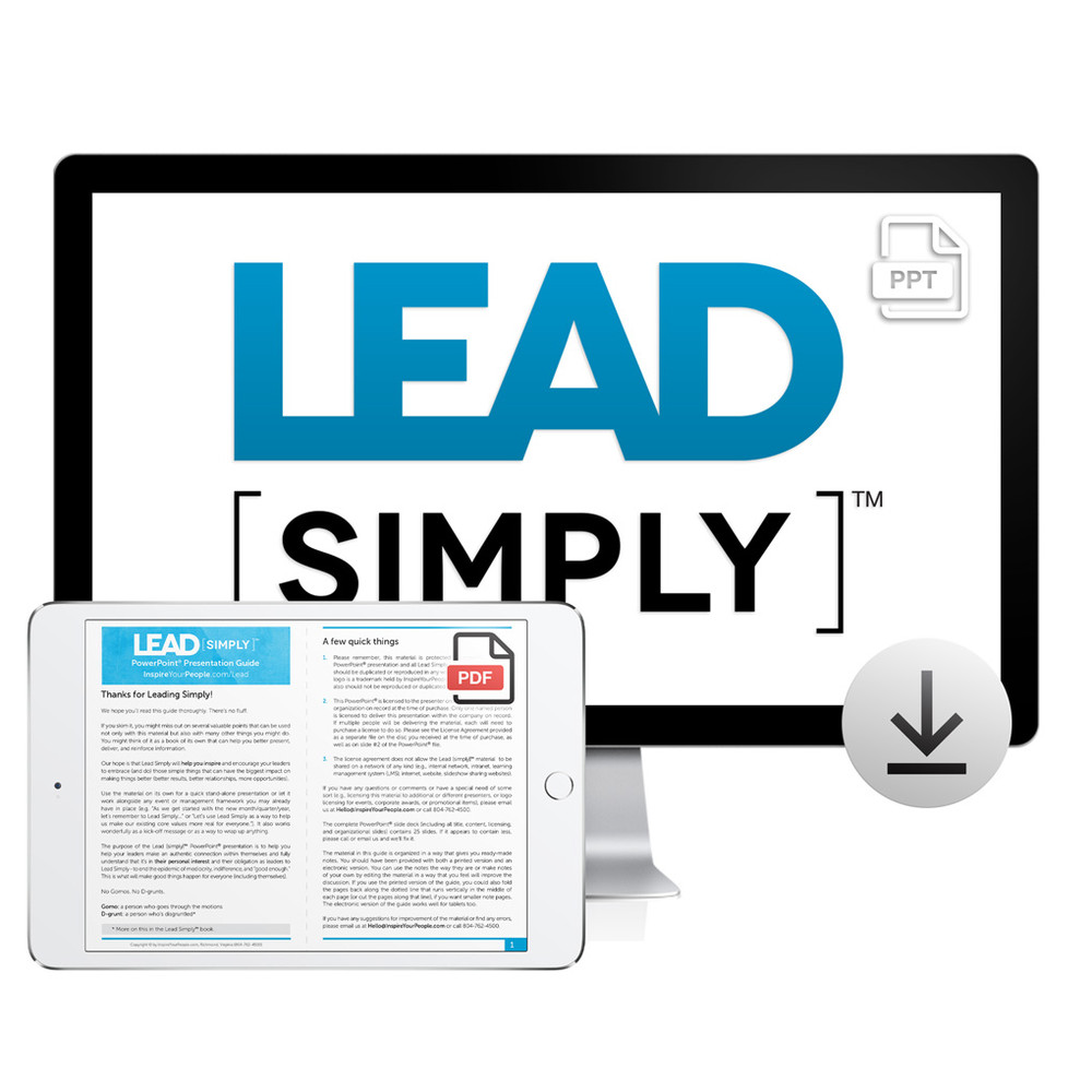Lead Simply PowerPoint® Presentation Download