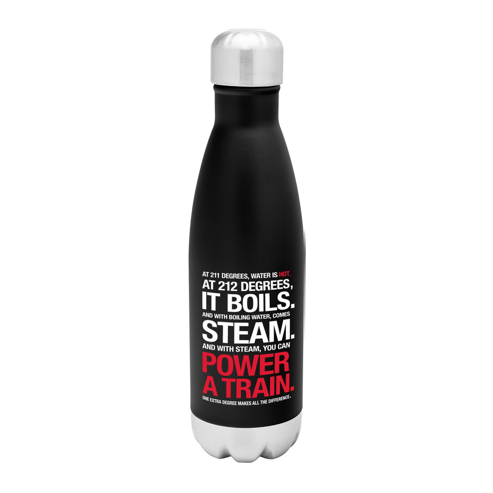 212° Stainless Steel Bottle (17oz Black Matte)