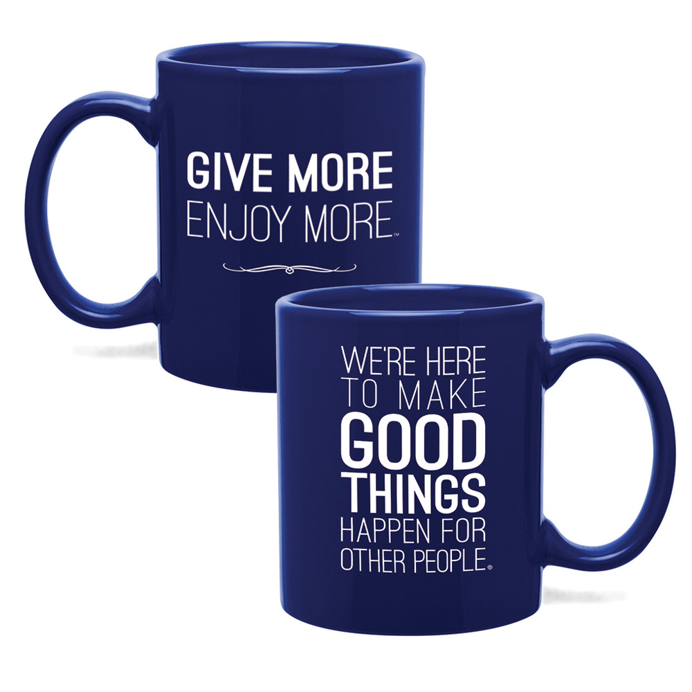 Make Good Things Happen Mug (11oz Royal Blue)