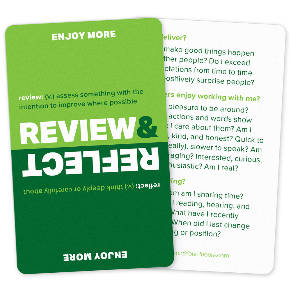 Review & Reflect Pocket Cards (10 pack)