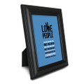 Love Your People 5 in. x 7 in. Framed Print (blue)