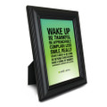 Smile & Move 5 in. x 7 in. Framed Print (green)