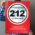 212° Boiling Point 18 in. x 24 in. Poster (vertical)