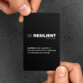 Be Resilient Pocket Cards (10 pack)