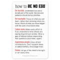 Be No Ego Pocket Cards Classic (10 pack)