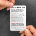 Be No Ego Pocket Cards (10 pack)