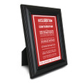 Declaration of Contribution 5 in. x 7 in. Framed Print (red)