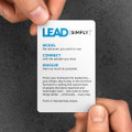 Lead Simply Pocket Cards (10 pack)