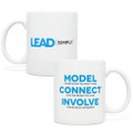 Lead Simply Mug (11oz White)