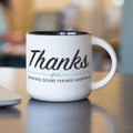 Thanks for Good Things Gift Mug (14oz The Note)