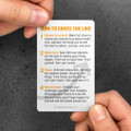 Cross The Line Pocket Cards (10 pack)