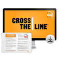 Cross The Line PowerPoint® Presentation Download