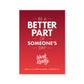 Work Kindly 5 in. x 7 in. Prints - red