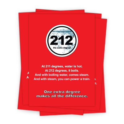 212° 5 in. x 7 in. Prints - red