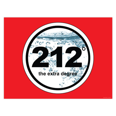212° Boiling Point 24x18 Poster (horizontal)