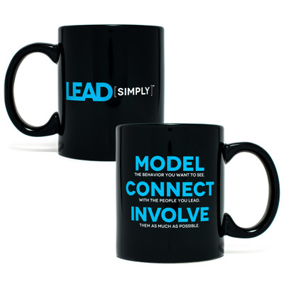 Lead Simply Mug (11oz Black)
